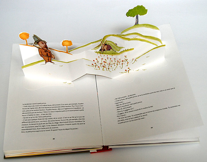 Petit Prince Collection Pop Up Books